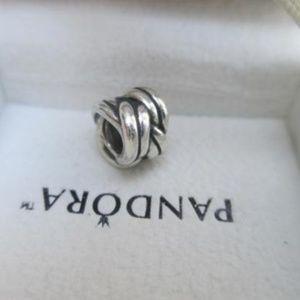 Pandora love knot 790484 925 ALE